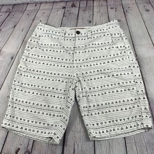 Arizona Triangle Prints shorts Size 30